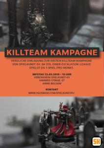 Killteam Kampagne – Wie alles beginnt… !