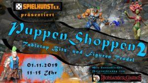 Puppen Shop(p)en 2019- Tabletop Bitz- und Figurentrödel, 01.11.2019